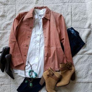 Saks Fifth Avenue | Bagatelle 100% leather jacket